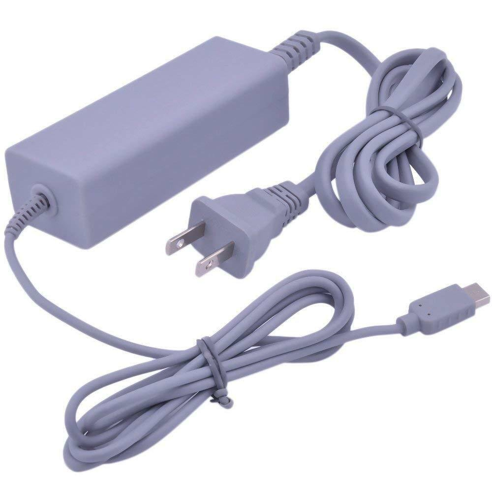AC Charger Power Supply Adapter for Nintendo Wii U Console Gamepad US Plug