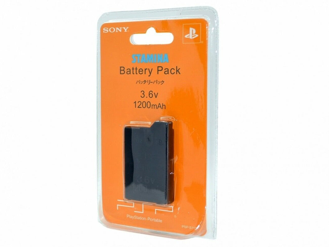 Battery Sony PlayStation Portable PSP 2001 3001  PSP-S110 Rechargeable 1200mAh