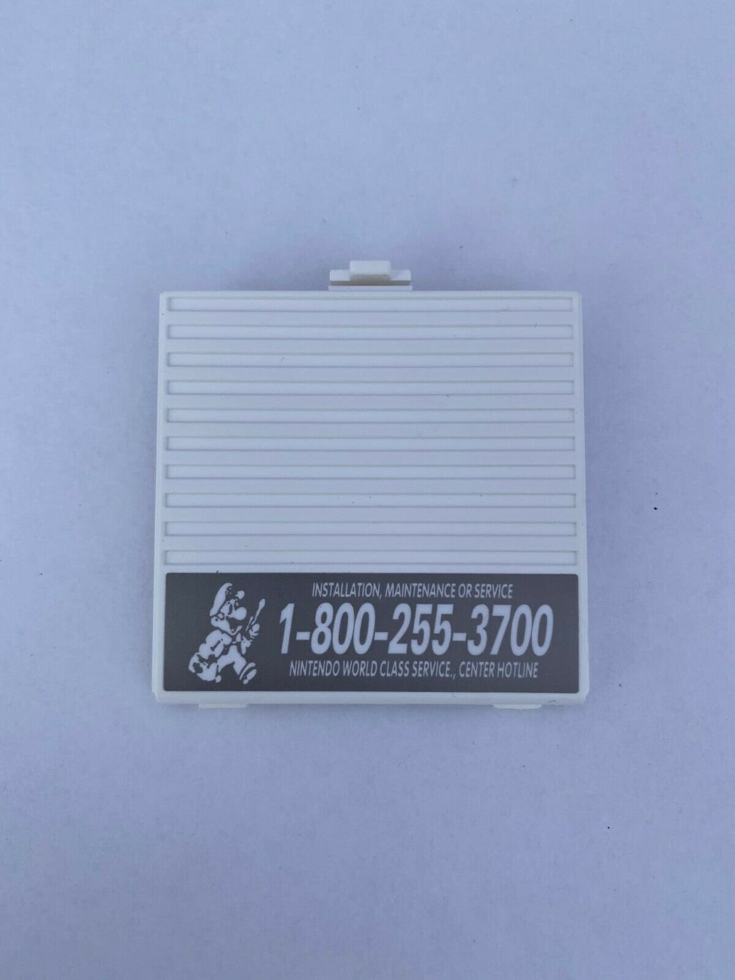 White Battery Cover Original Game Boy for Nintendo GB Replacement Door Sticker