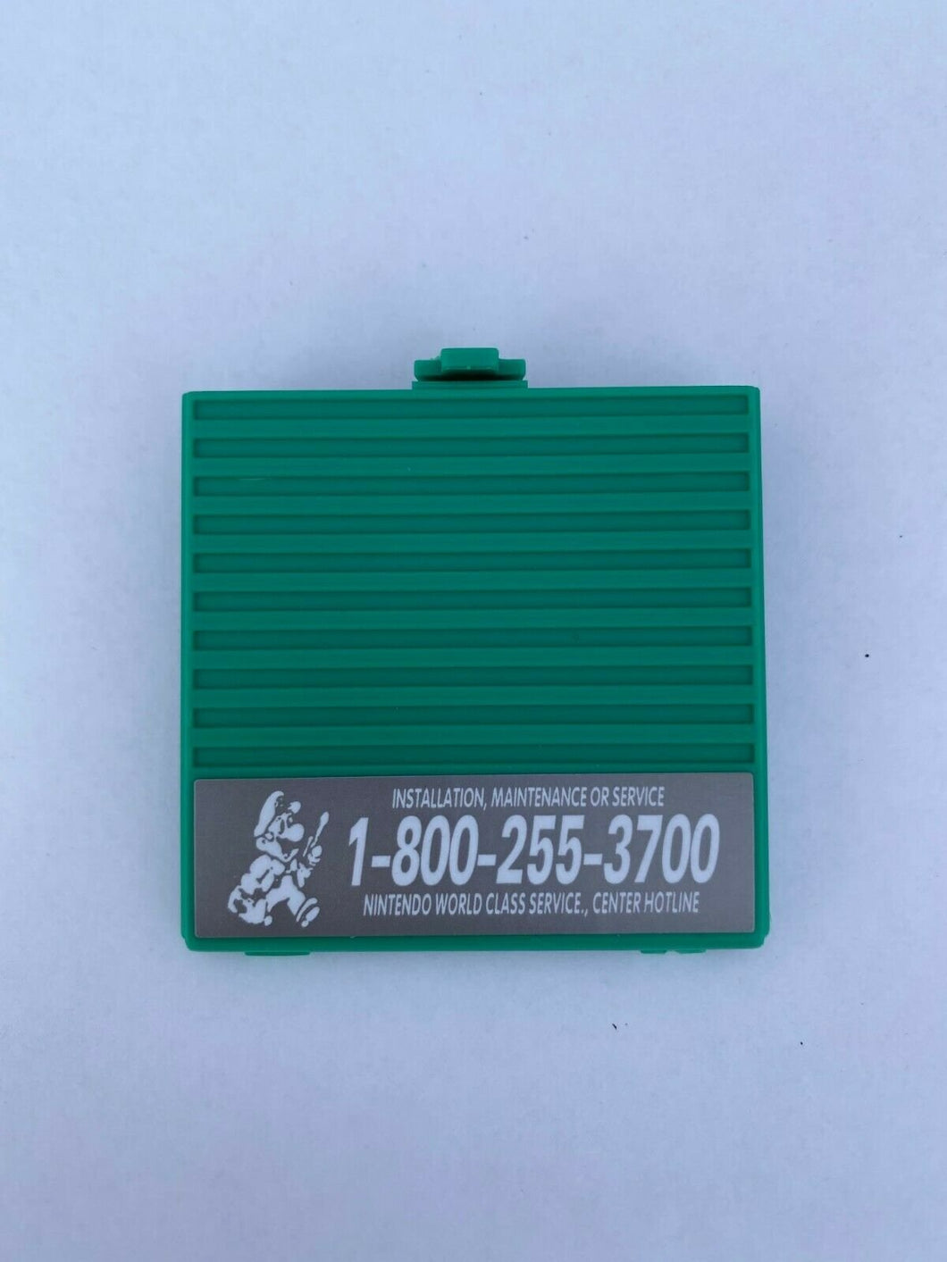 Green Battery Cover Original Game Boy for Nintendo GB Replacement Door Sticker