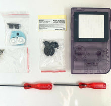 Load image into Gallery viewer, Replacement Housing for Nintendo Game Boy Pocket GBP Shell Clear Atomic Purple