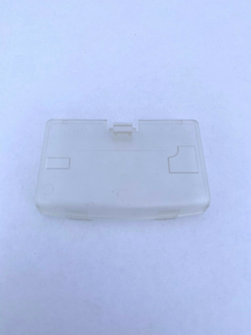 Crystal Clear Battery Cover Game Boy Advance for Nintendo GBA Replacement Door