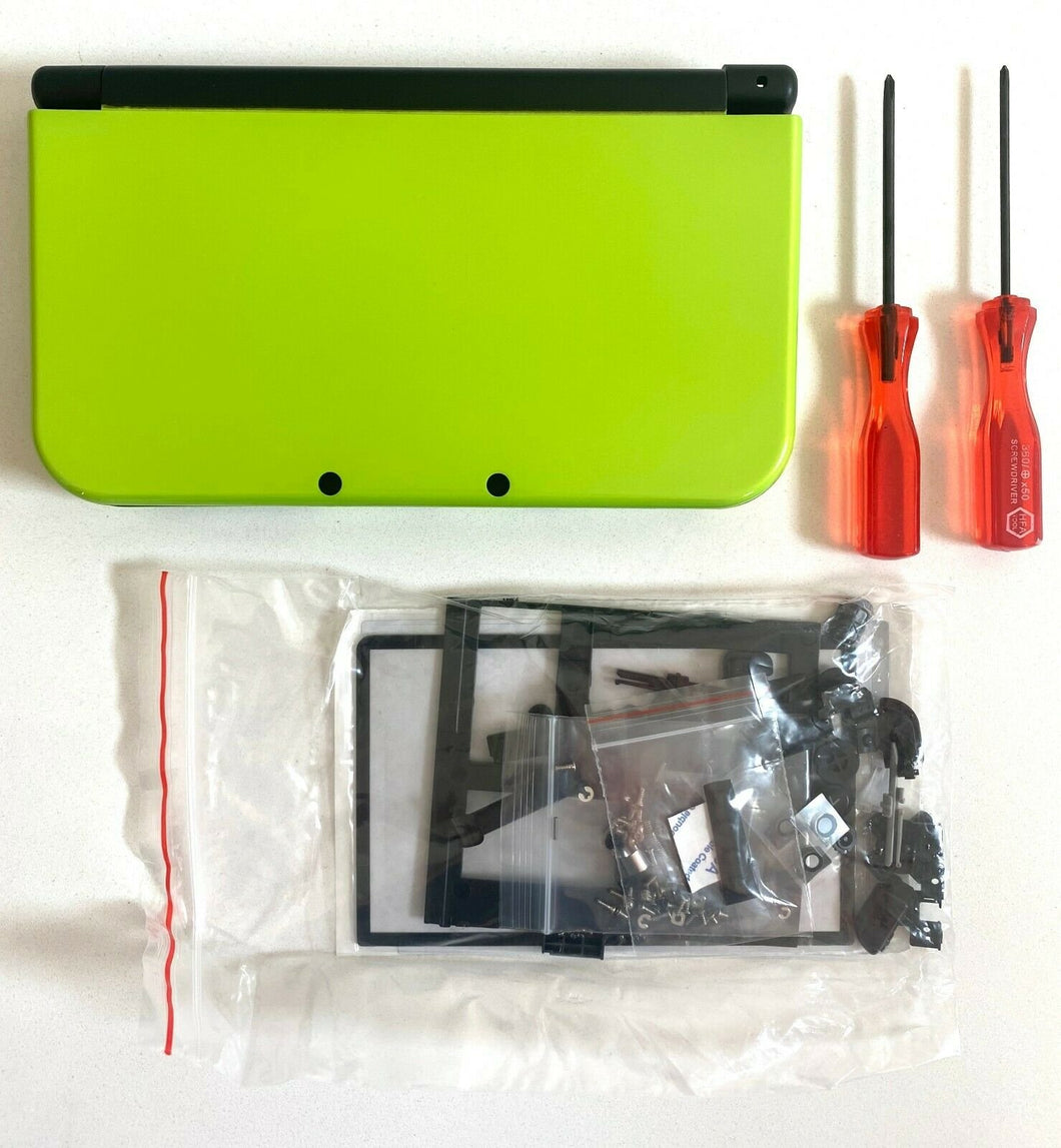 Replacement Housing for New Nintendo 3DS XL Shell Screen Tools Apple Green