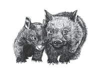 Wombat card - David and Betty  by Wildcard-Sue