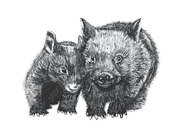 Wombat - David and Betty Wombat