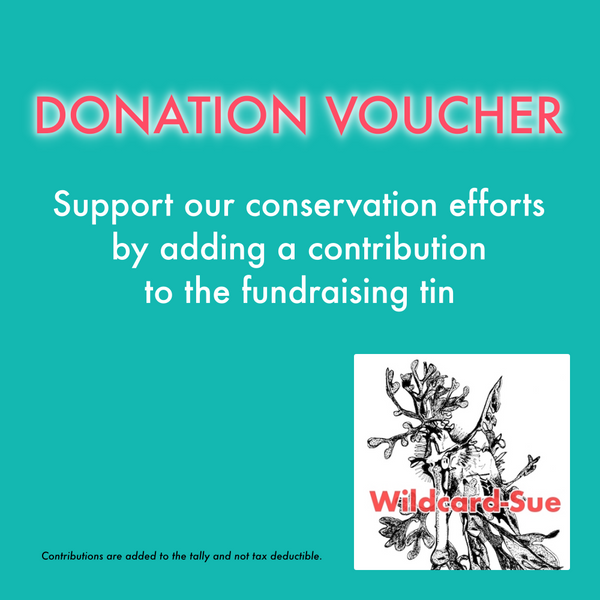 Donation - contribution to Conservation