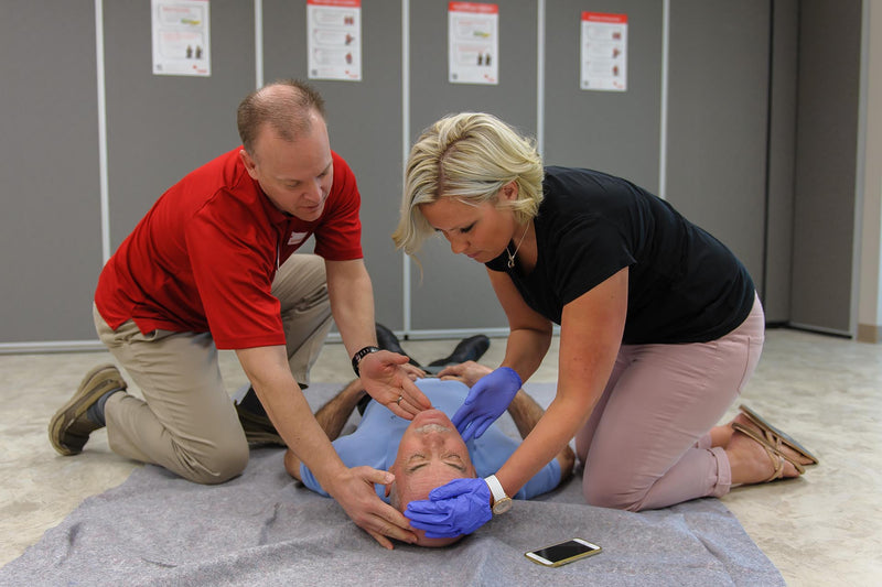 Standard First Aid & CPR and AED Training (Blended Online)