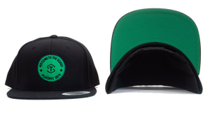 black and green hat with tyler seguin logo and welcome to the rodeo playoffs 2019 on front