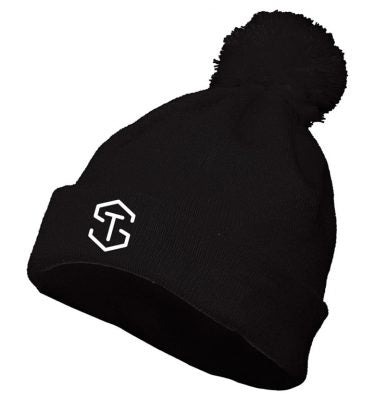 TS Knit Black Hat