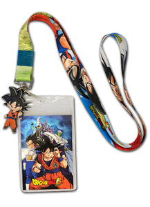 DRAGON BALL SUPER - SD GOKU 01 LANYARD