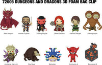 Dungeons & Dragons 3D Foam Bag Clip