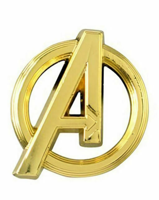 Marvel Avenger Logo Gold Lapel Pin