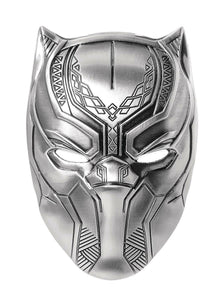 Black Panther Pewter Keychain