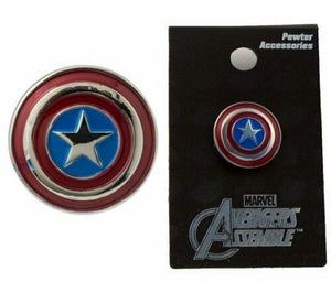 Marvel Captain America Shield Enamel Pin