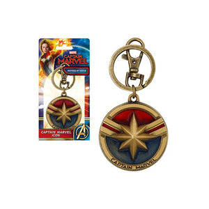 Captain Marvel Colored Keychain