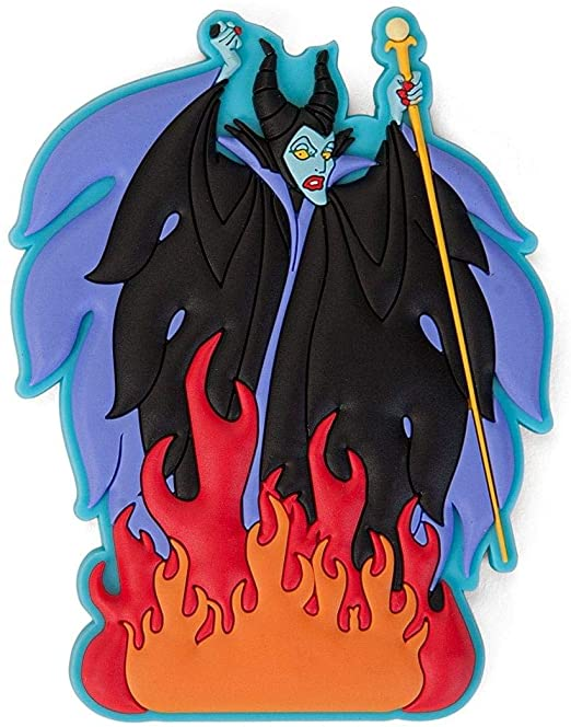 Villians - Maleficent Soft Touch PVC Magnet