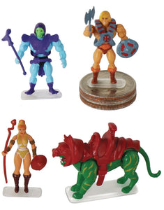 Masters of the Universe Micro Action Figures 4 PACK