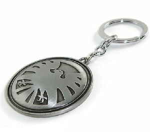 Agents Of Shield Pewter Keychain