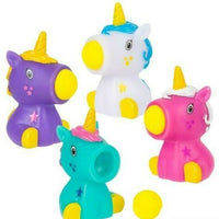 "2.75"" Mini Unicorn Ball Launcher 4 Pack"