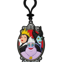 DISNEY VILLAINS GROUP SOFT TOUCH PVC KEYCHAIN