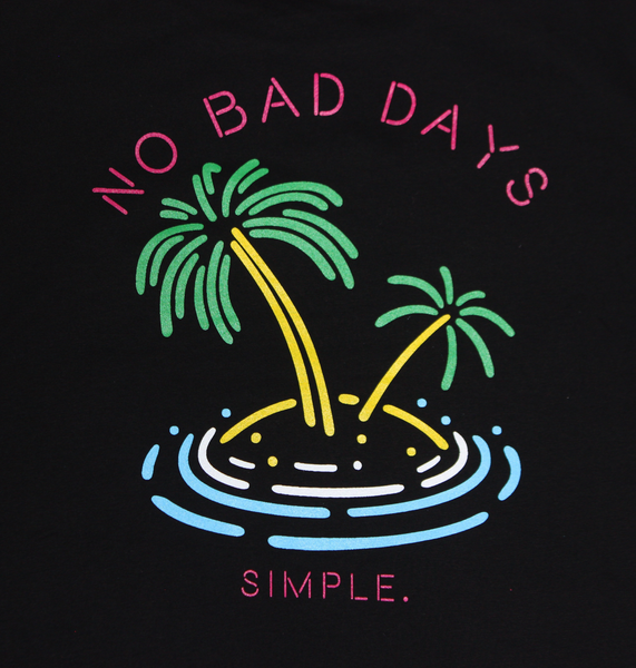 -No Bad Days Scoop Tee