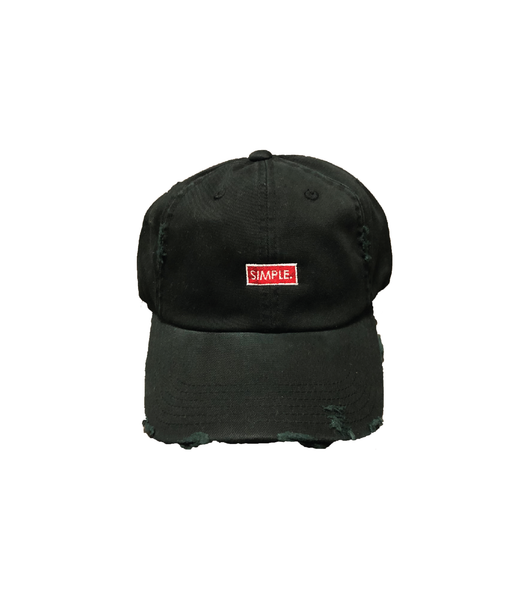 - Tag Distressed Cap
