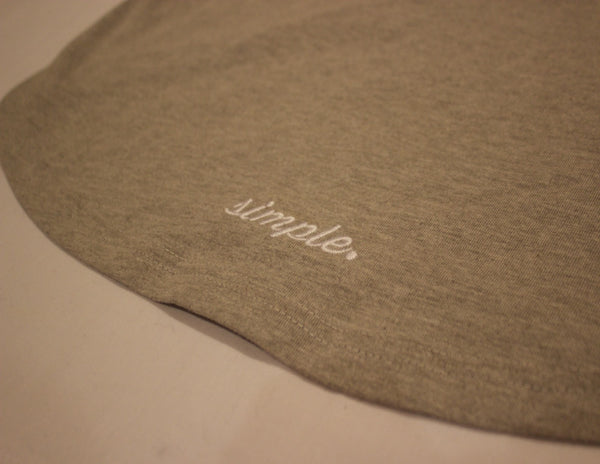 Curve' L/S T Shirt Heather Grey