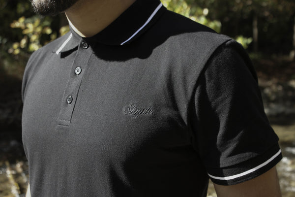 002 Border Polo T Shirt