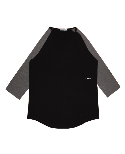 . Light Baseball Raglan Top