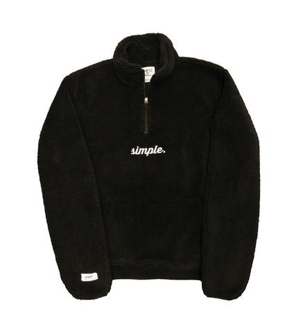 -     Hibernate ¼ Zip Sherpa Sweater