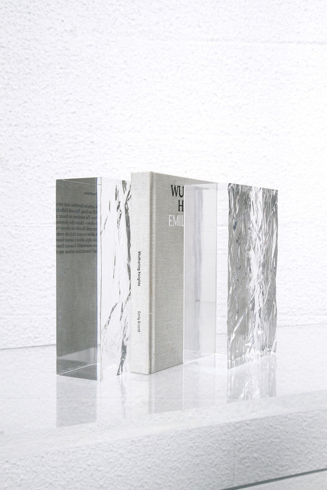 The CRUSHED ICE bookends