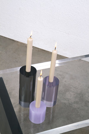 Load image into Gallery viewer, The TRIO Ombré candle holders (set of 3)