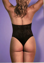 Load image into Gallery viewer, Seamless Halter Teddy-  Black