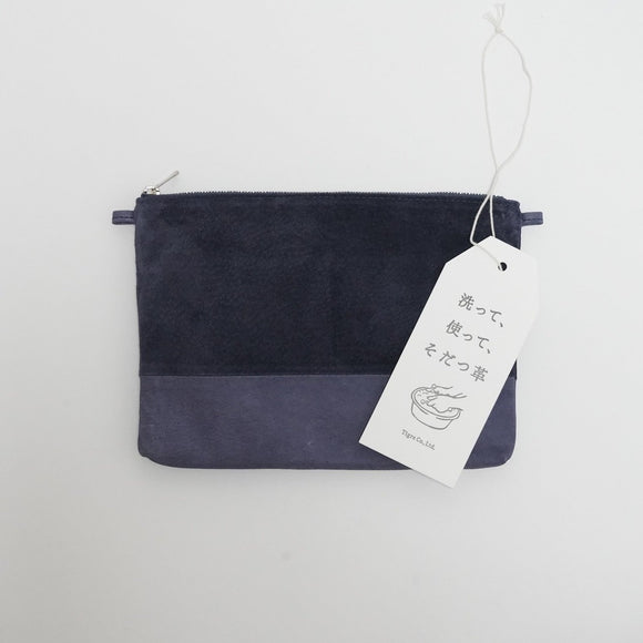 レザーバッグ Washable Pouch Bag/T18005/TOKYO LEATHER FACTORY