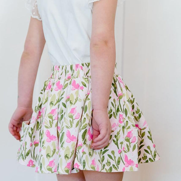 SweetHoney - Garden Skirt - Fresh Fuchsia