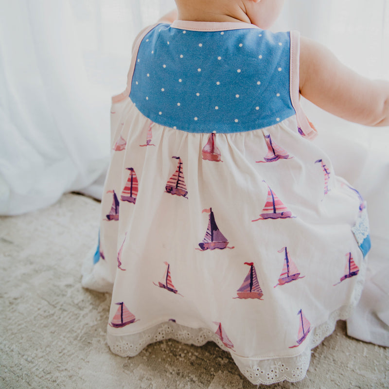 Out to Play Set - Sail Away Periwinkle