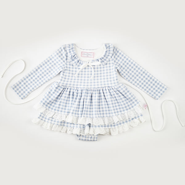 Belle Bubble - Blueberry Gingham