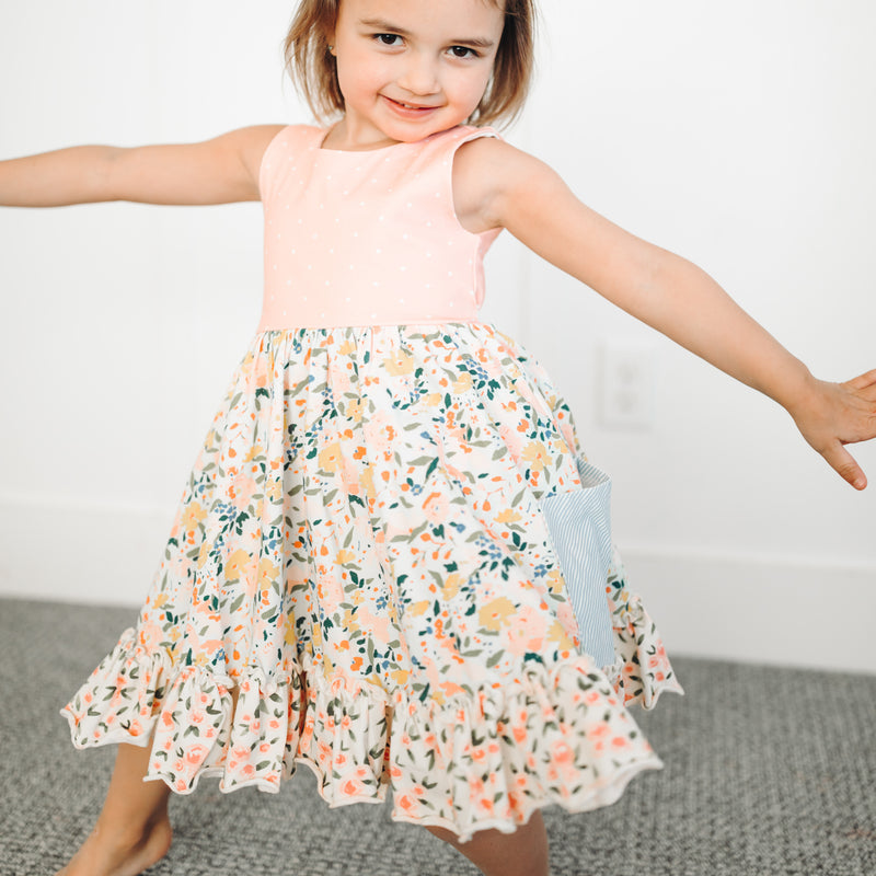 Flair Dress - Tropics Floral