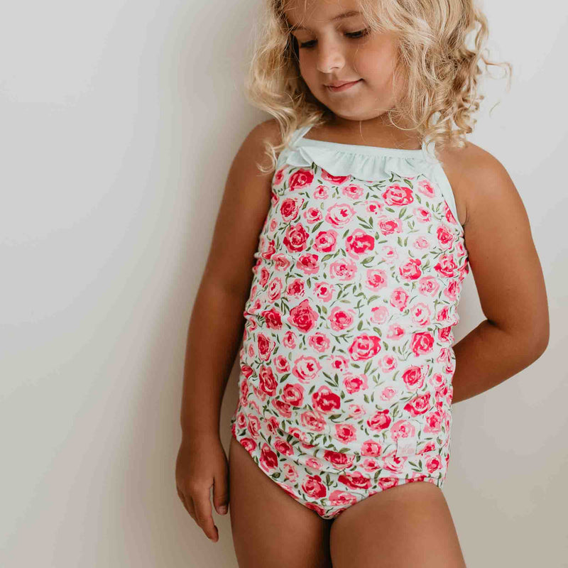 Cami Lounger Set - Covered in Roses