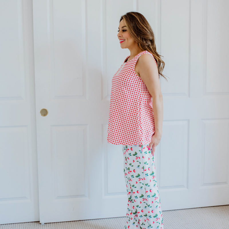 Women's Cozy PJ - Sweet Strawberry