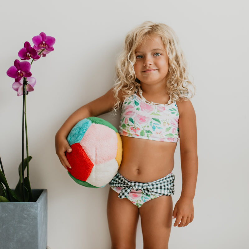 Retro Tankini - Fresh Blooms