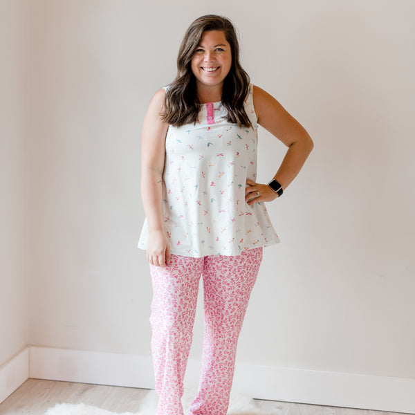 Women's Cozy PJ - Dragonfly