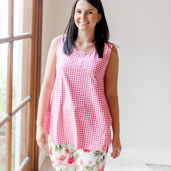 Women's Cozy PJ - Bright Floral
