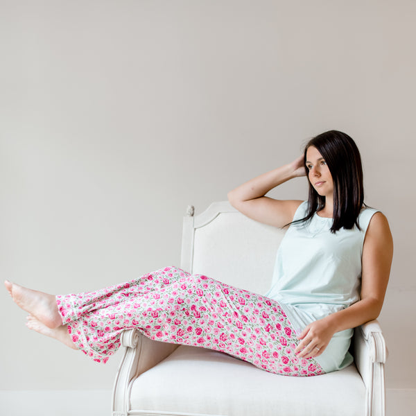 Women's Cozy PJ - Covered in Roses