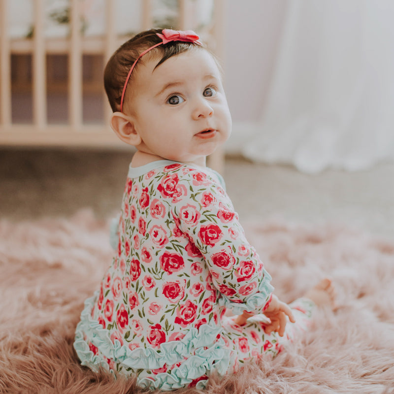 Dreamer Layette - Covered in Roses