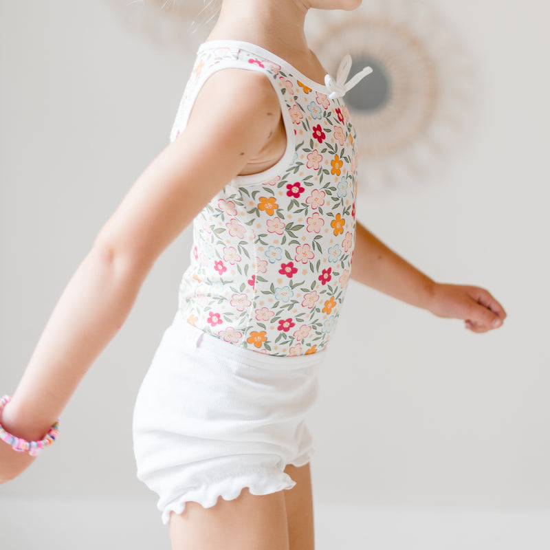 Sleeveless Bodysuit - Bubbly Floral