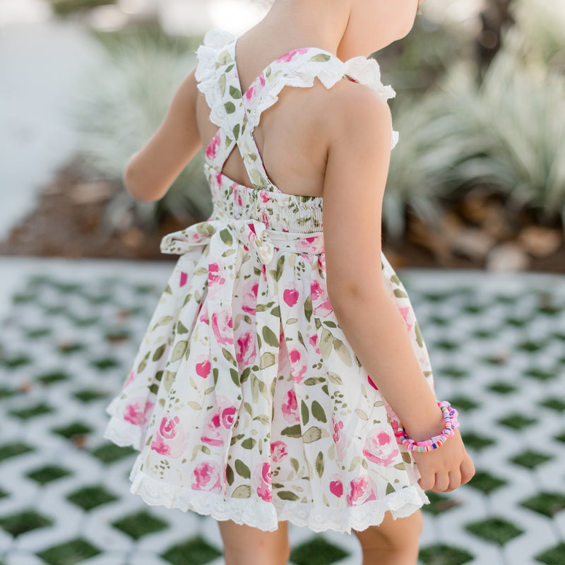 Pinafore Dress - Starbright Pink