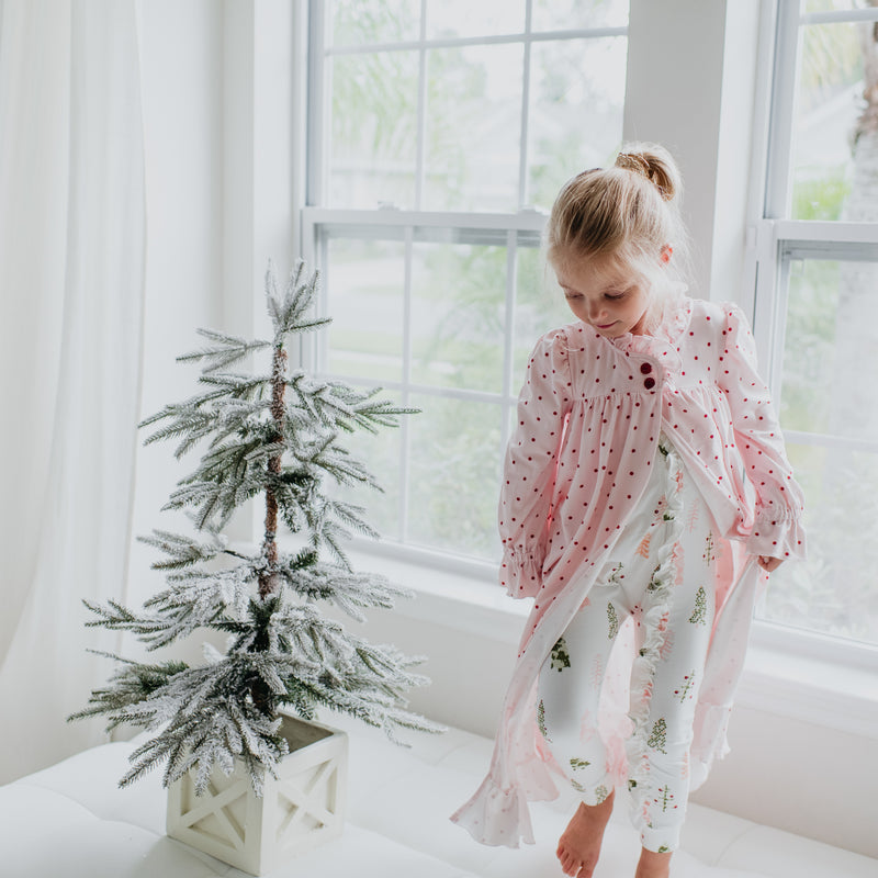Sweet Ruffled Robe - Whimsy Trees