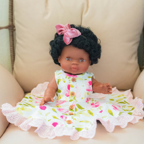 Doll Dress - Starbright Pink