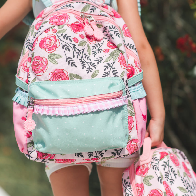Ridley Toddler Backpack - Easy Peasy Pink